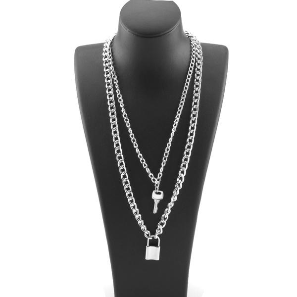 Keys, clavicle  chain, Chain Necklace, Fashion