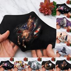 horseprint, mouthmask, printedfacemask, unisex