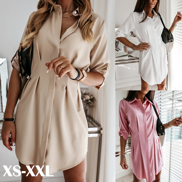 Mini, Fashion, ruffle, Long Sleeve