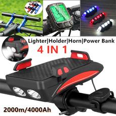 bicyclespeedometer, Flashlight, bikeextensionbracket, Bicycle