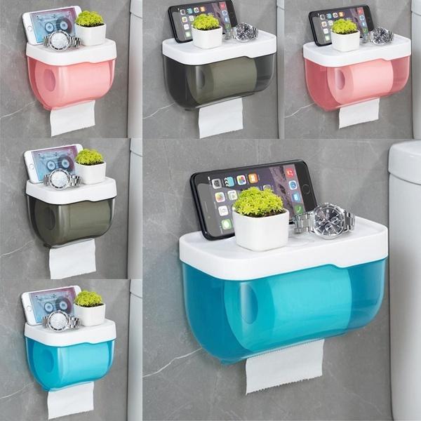 toiletpaperholder, Box, paperrollholder, Wall Mount
