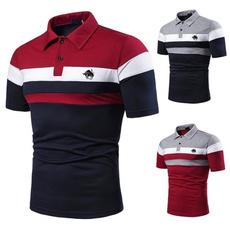 Fashion, men's cotton T-shirt, Polo Shirts, camisasocialmasculine