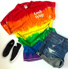 rainbow, Fashion, Love, Shirt