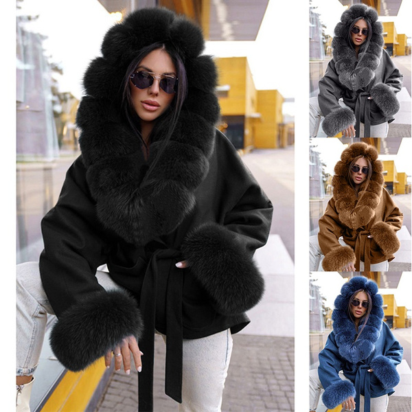 fur coat, Fashion, Lace, Long Sleeve