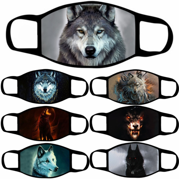 washable, wolfprint, coolmask, Breathable
