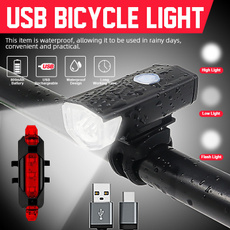 Flashlight, rechargeablebicyclelight, Bicycle, Sports & Outdoors