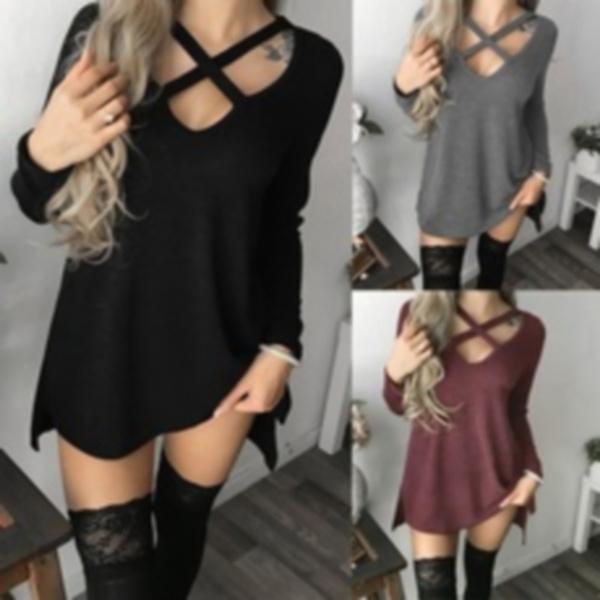 Mini, Fashion, Long Sleeve, Shirt