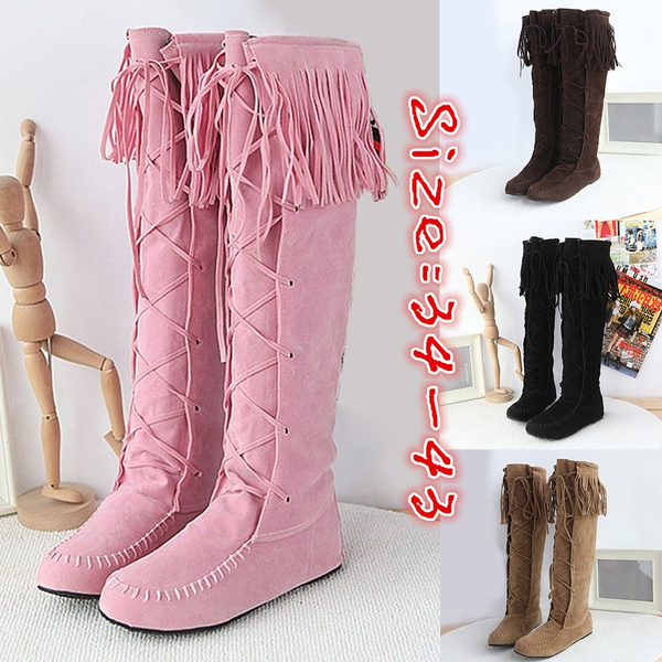 tallboot, Lace, long boots, Knee High Boots