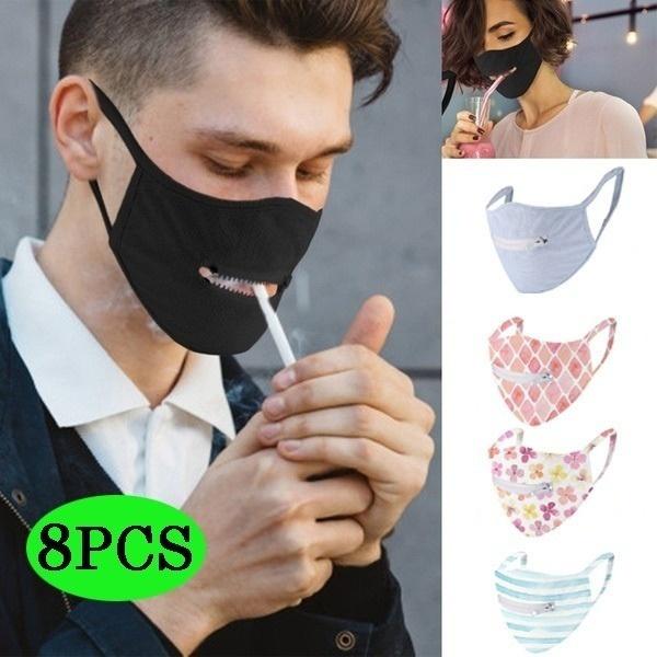 zippermask, mouthmask, Masks, facemaskreusable