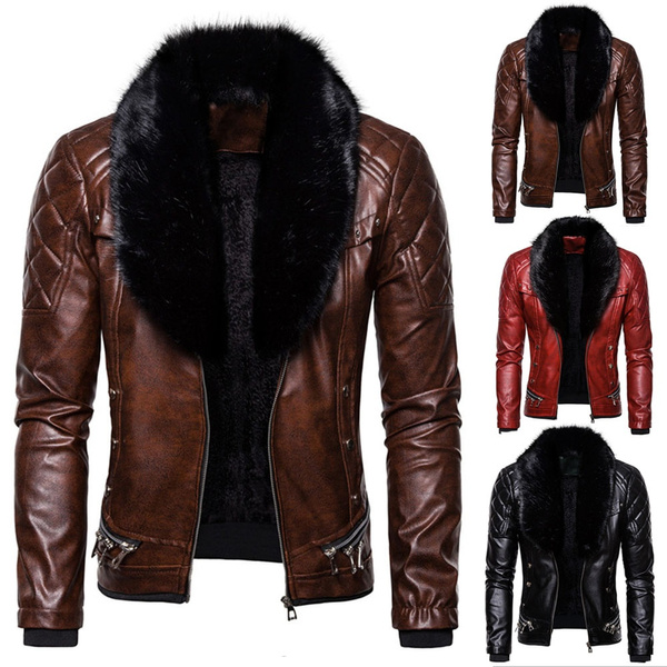 motorcyclejacket, Fashion, menfurcoat, punk