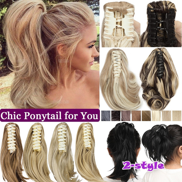 ponytailextension, Beauty Makeup, scrunchie, Hair Extensions
