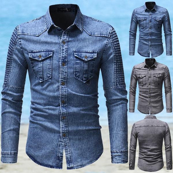 autumnwinter, Fashion, Shirt, Cowboy