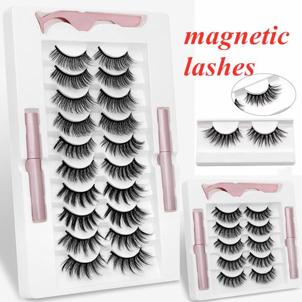 Eyelashes, False Eyelashes, Makeup, Beauty