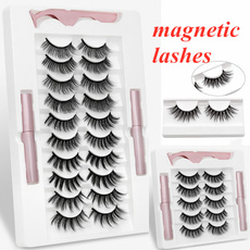 Eyelashes, False Eyelashes, Makeup, Beauty