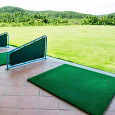 golfmat, Golf, rubberteeholder, golftraining