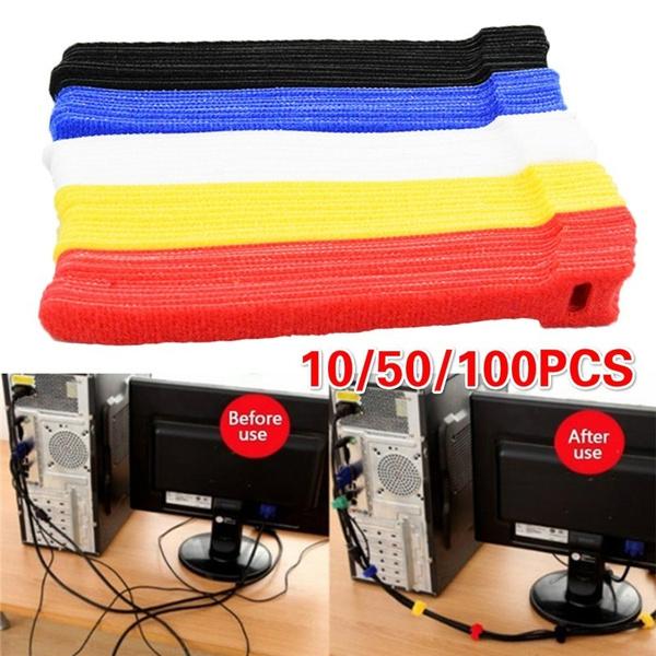 management, cableclip, computer accessories, velcrotape