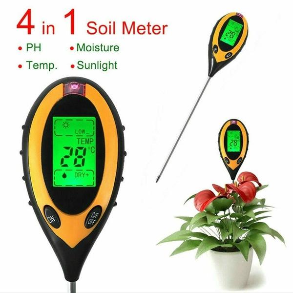 Plants, Flowers, soiltestermeter, Temperature