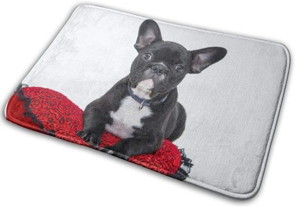 doormat, Bathroom, puppy, topgradepolyesterfabric