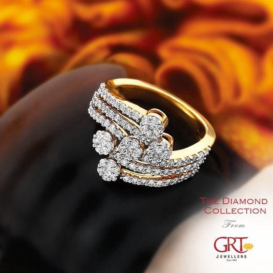 DIAMOND, gold, 18k gold ring, gift for lovers