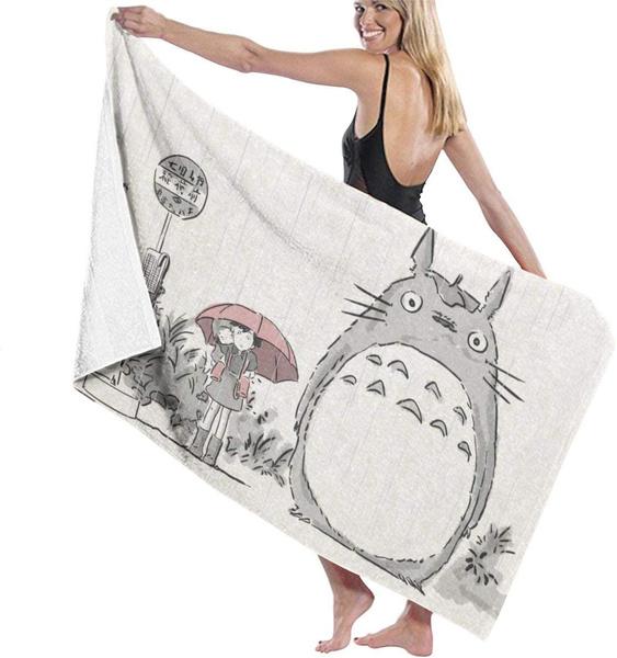 fashionbeachtowel, My neighbor totoro, cutetowel, Towels