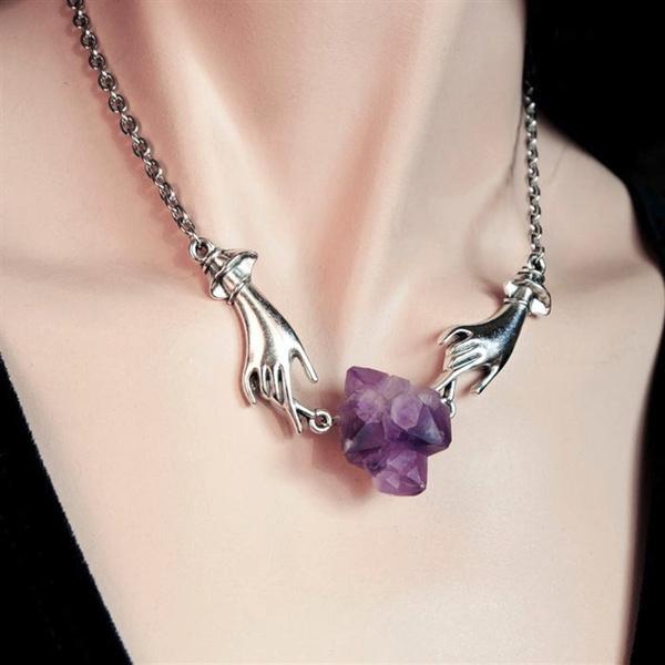 wiccan, Silver Jewelry, quartz, Jewelry