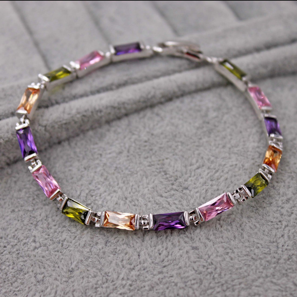 pink, gemstone jewelry, rectanglejewelry, Jewelry