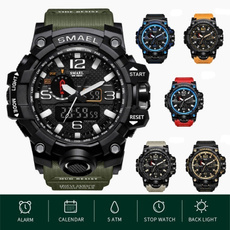 Army, military watch, led, Waterproof
