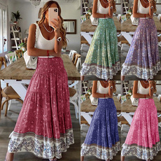plussizeskirt, long skirt, summer skirt, Summer