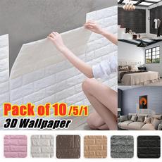 brick3dwallpanel, Kitchen & Dining, brickpeelandstick, adhesivefoamwalldecor