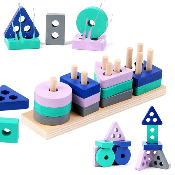 Toy, earlylearing, Geometry, playtoy