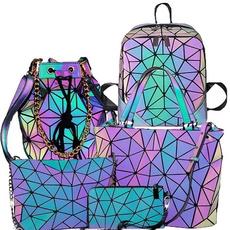 Shoulder Bags, rainbow, Bags, Backpacks