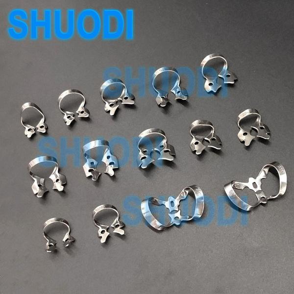 dentalclampstray, endodonticrestorativedam, dentalclamp, Stainless Steel