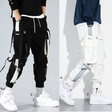 Hip-hop Style, cargo, pants, menmultipocketoverall