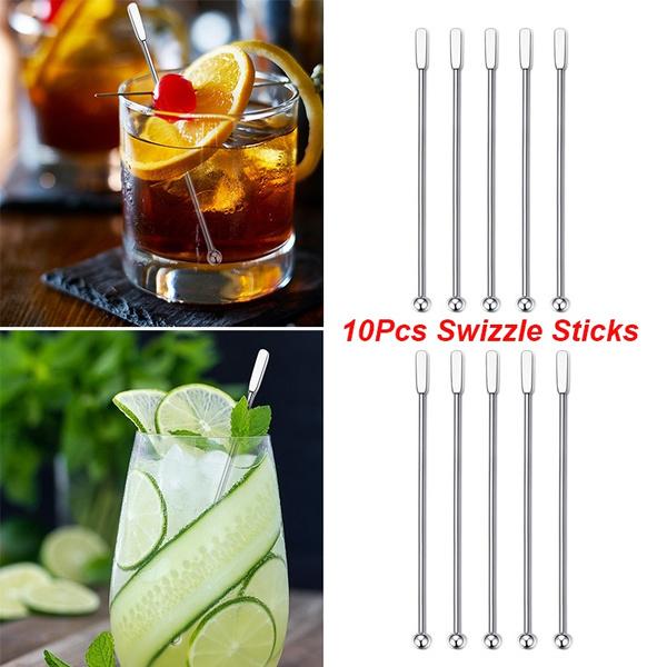 Steel, Stainless, coffeestirrer, cocktailpick