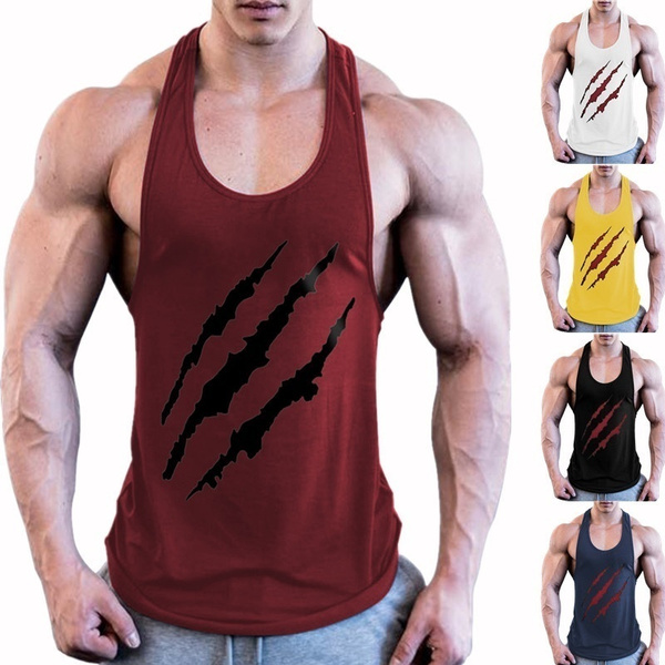 bodybuildingvest, Tank, printedvest, gymvest