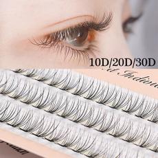 False Eyelashes, volumefan, eye, knot