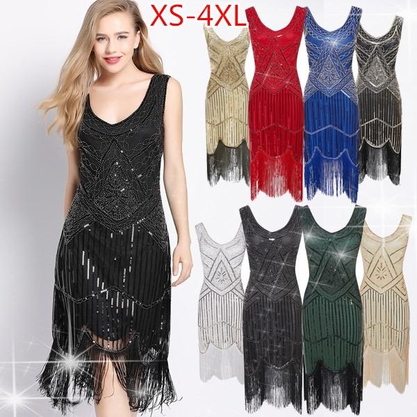 Plus Size, 1920sparty, embellisheddre, Vintage dress