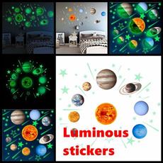 solarsystem, homedecration, Home & Living, Stickers