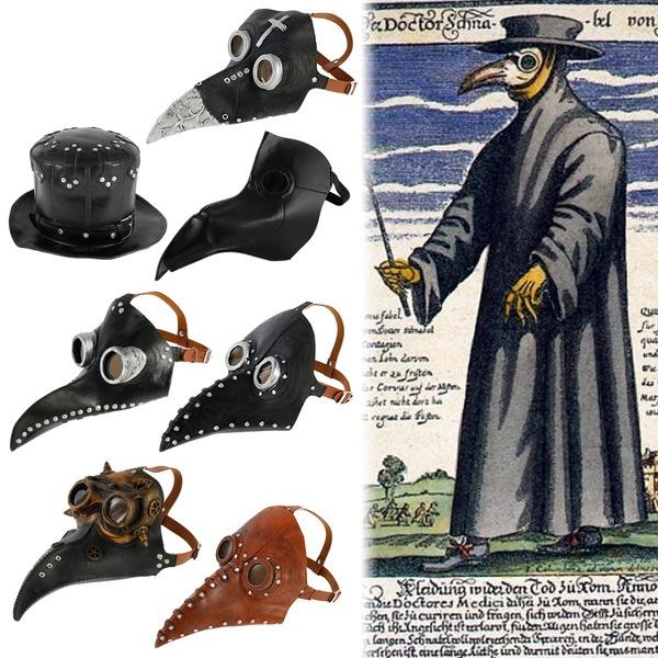 Cosplay, partymask, Steampunk, Halloween