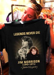menfashionshirt, jimmorrison, Cotton T Shirt, jimmorrisonshirt