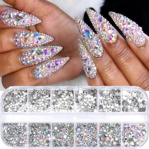 decoration, DIAMOND, nailglitter, nailrhinestone