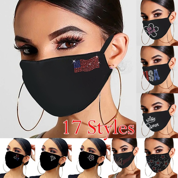 washable, Bling, sequinmask, Breathable
