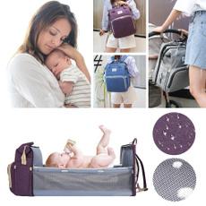 Capacity, foldablebed, Bags, baby bags