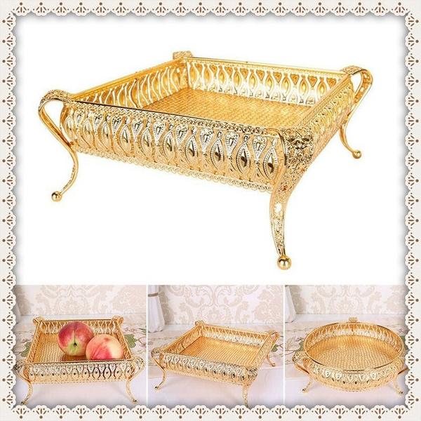 Plates, fruitplate, Jewelry, gold