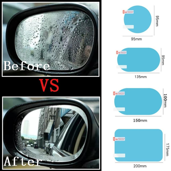 Car Sticker, carmirror, Waterproof, rainfilm
