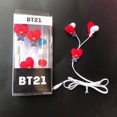 K-Pop, Headset, Earphone, universalearphone