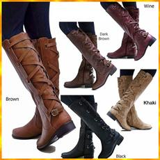 non-slip, leather shoes, Cowboy, Lace