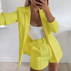 elegantoutfit, blazer and shorts, high waist shorts, sexycluboutfit