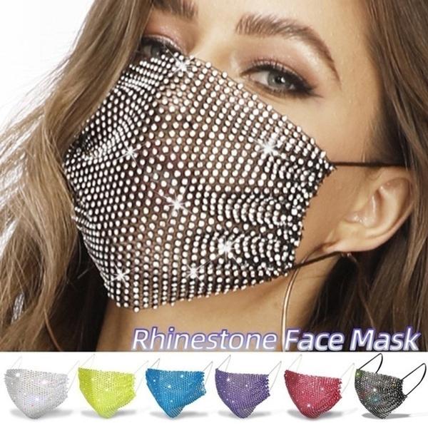 womenmask, crystalmask, Shiny, DIAMOND