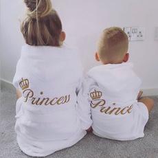 Baby Girl, hooded, embroidered, Pajamas